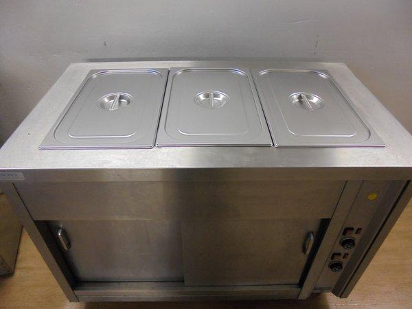 3 Gastro Dry Bain Marie & Hot Cupboard,