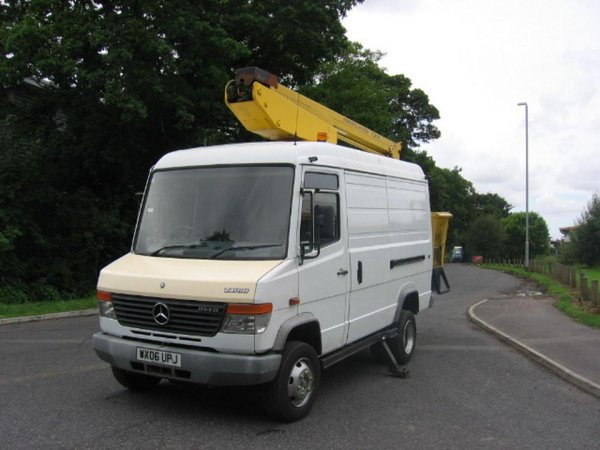 Mercedes vario with cherry picker for sale