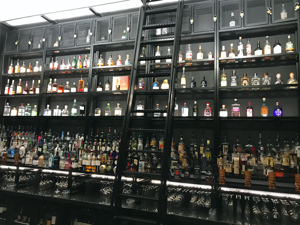 Black back bar