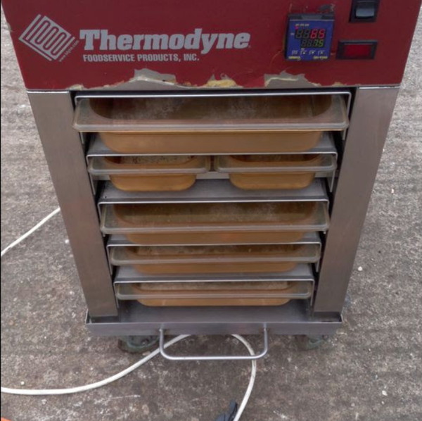 Thermodyne hot trolley