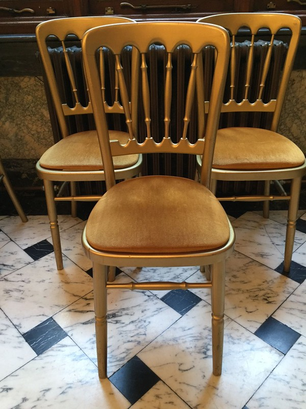 Used Cheltenham Gilt / Gold Chairs