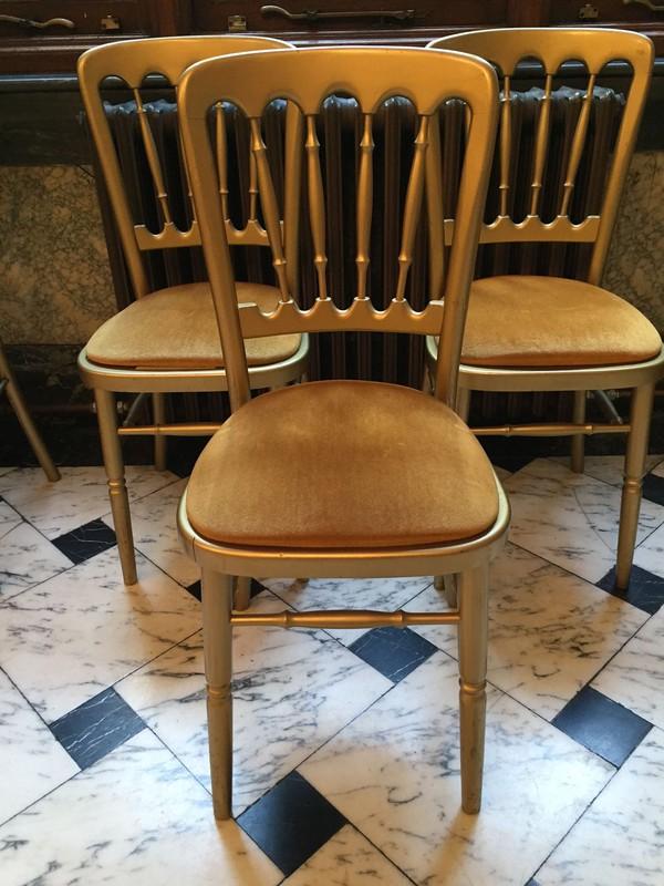 155x used cheltenham gilt gold chairs london