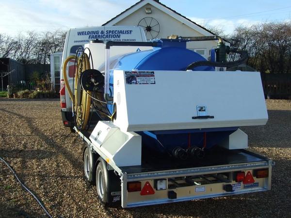 3000 Litre Vacuum Tanker For Sale