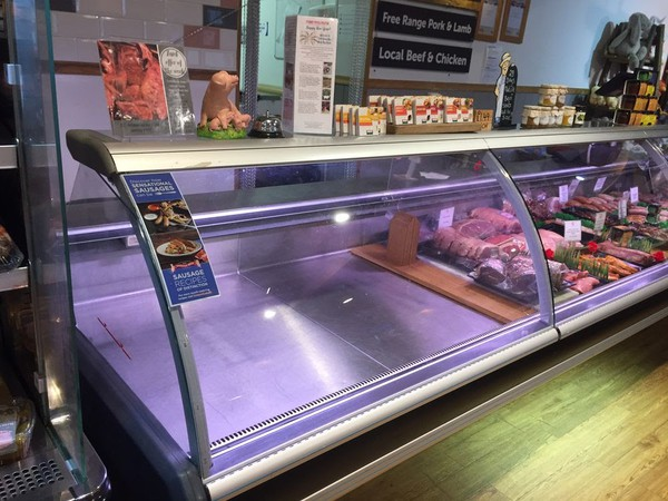 Butchery counter for sale