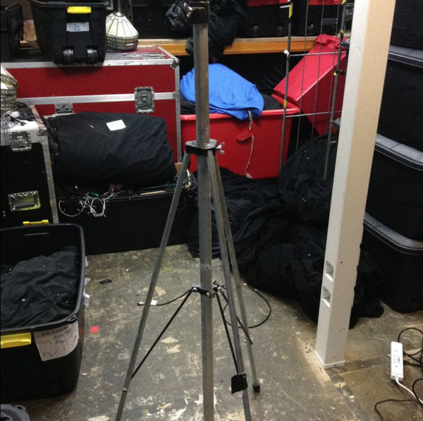 Lighting stand tripod