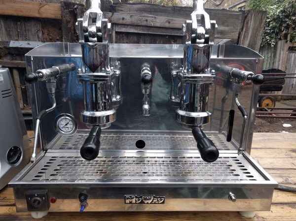 Lever Coffee Machine Dual Fuel