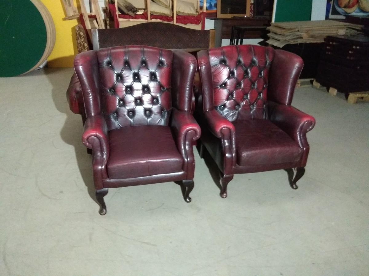 ... Blood Red Leather Sofa Set ... Nice Design