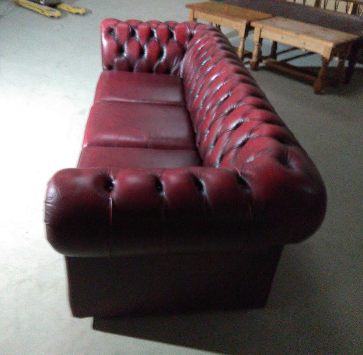 ... Secondhand Sofa And Chairs. Chesterfield ...