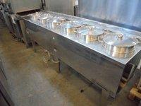 6 pot bain marie for sale