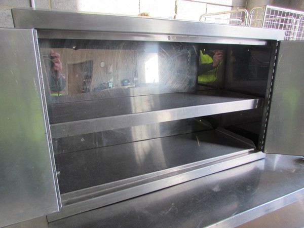 Used steel cabinet