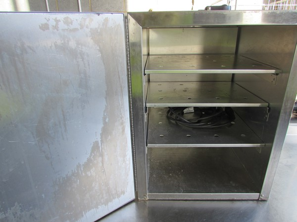Used heated cabinet
