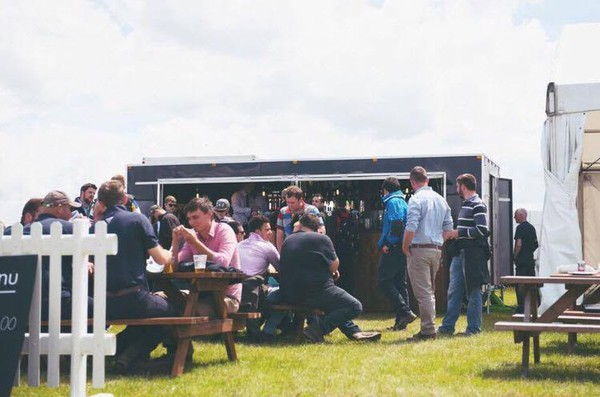 Portable bar trailer for sale