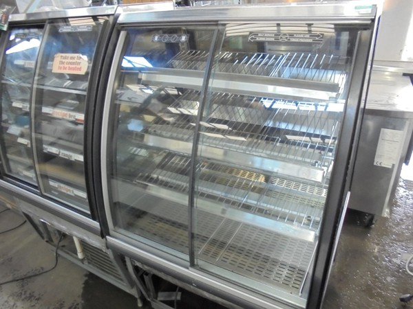 Used FPG ILH BPUK 800 Freestanding Heated Display / Warmer Pie Food Cabinet Hot Pasty Serve Glass (6139)