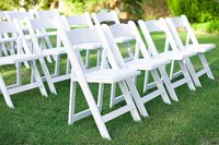 White event chairs
