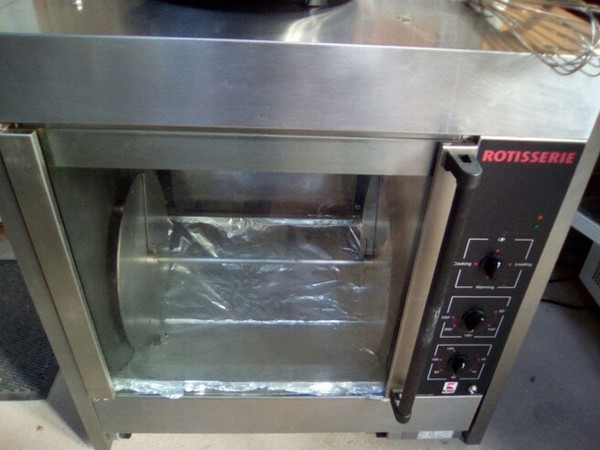Used rotisserie oven for sale