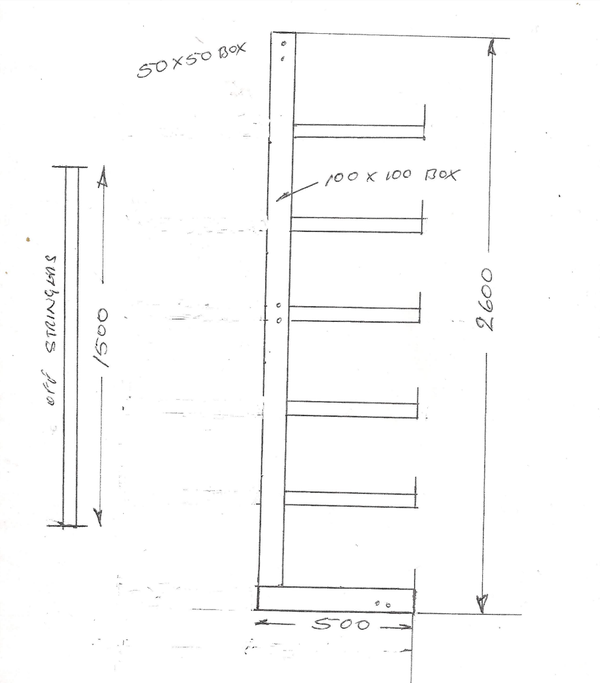 Wall racking for sale