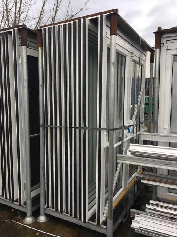 Windows panels double doors
