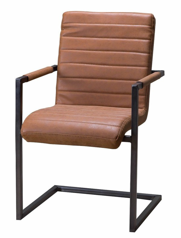 36x Industrial Style Upholstered Leather Chair