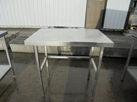 Stainless steel table 90cmW x 65cmD x 90cmH