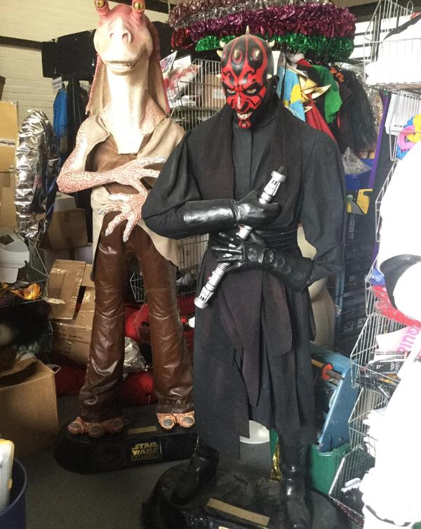 Star wars props
