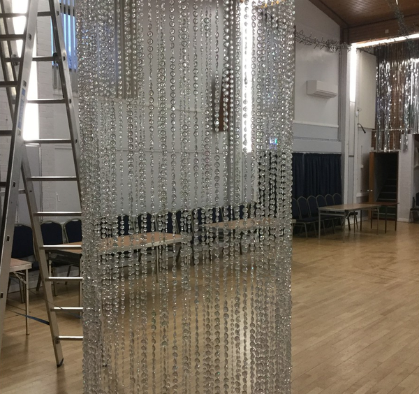 Glass droplets chandeliers for sale