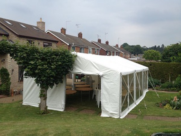 6m wide marquee for sale