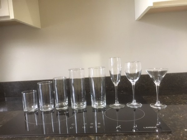 Glassware job lot for sale