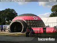 Used inflatable dome