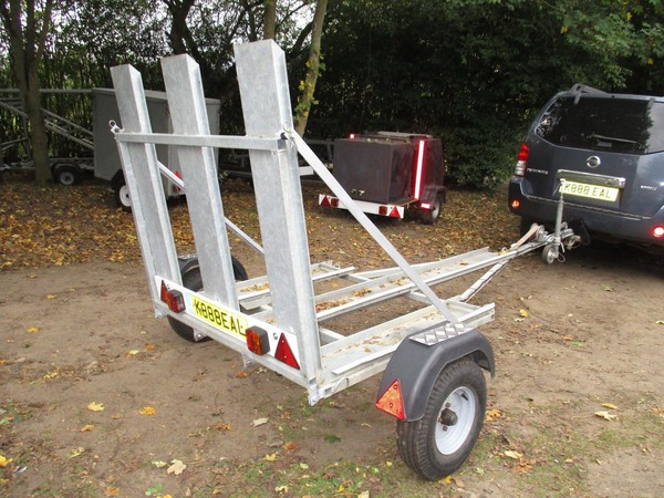Unique Galvanised 3 Wheeler / Trike / Tricycle Transporter Road Trailer