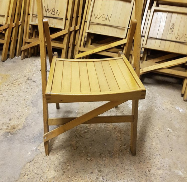Vintage folding chairs for sale