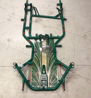 Used tony kart racer chassis
