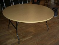 Round wooden banqueting for sale