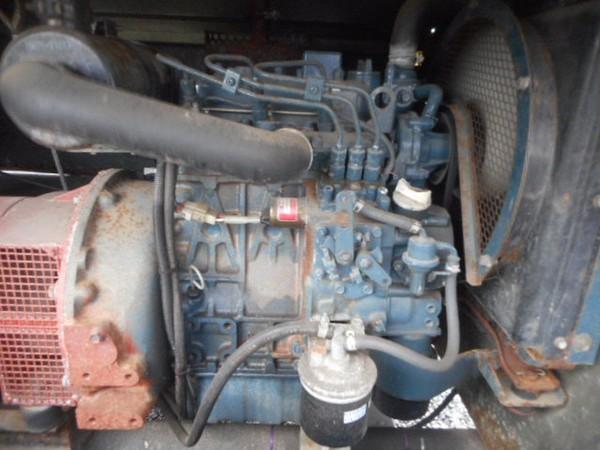 4 Light Head Kubota Engine