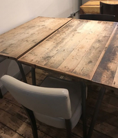 Wooden dining tables