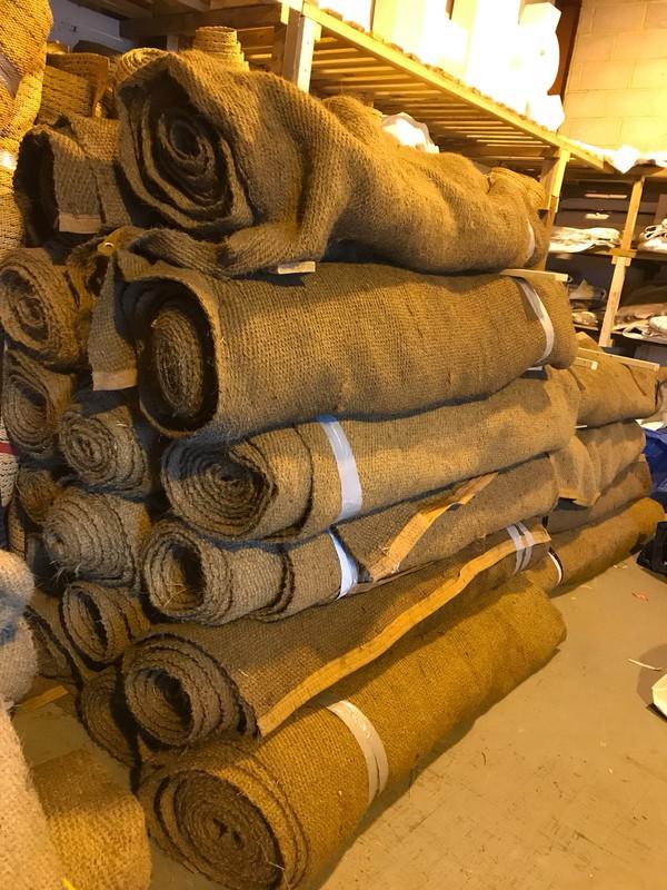 William Arms coconut matting