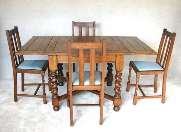 Wood pub chairs and tables