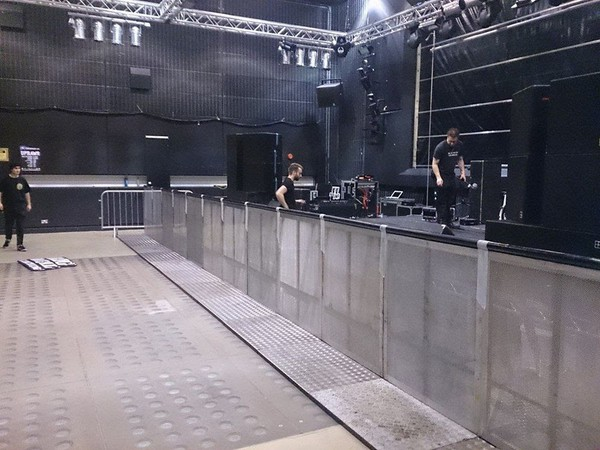 Selling Front of House Barrier
