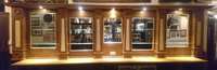 Oak Back Bar Fitting