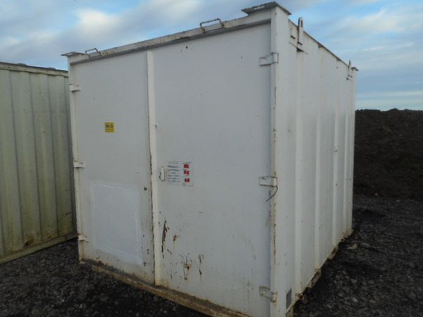 Anti vandal portable building