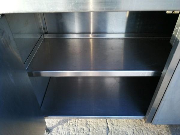 Commercial steel bench