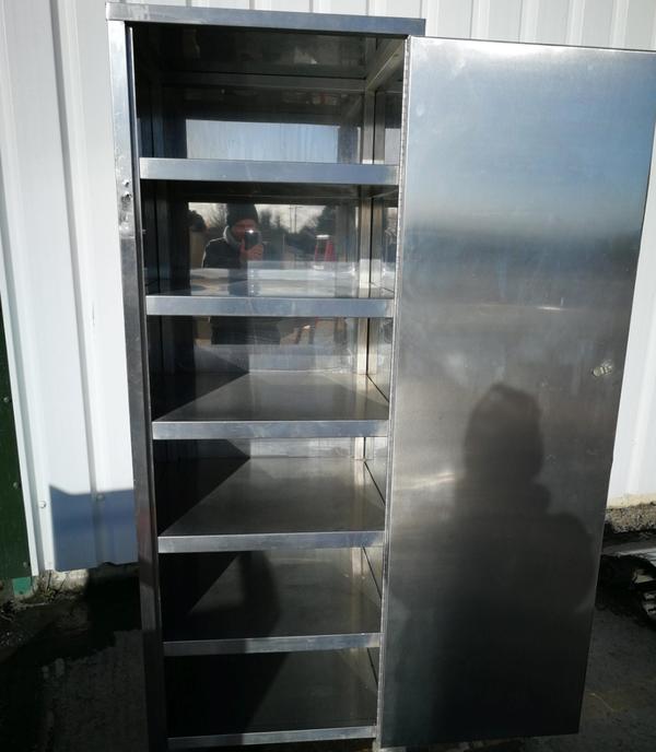 Secondhand steel cabinet