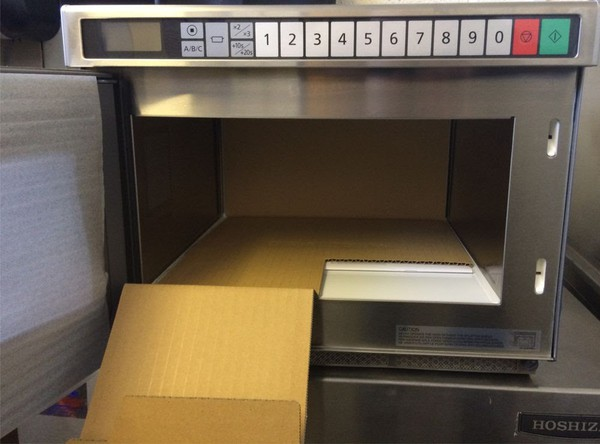 New microwave 1880w
