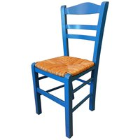 Greek wooden chairs
