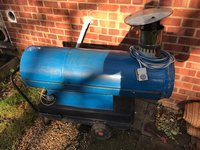 Blue heater for sale