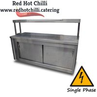 Pass through hot cupboard