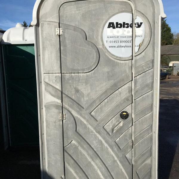Portable toilets job lot