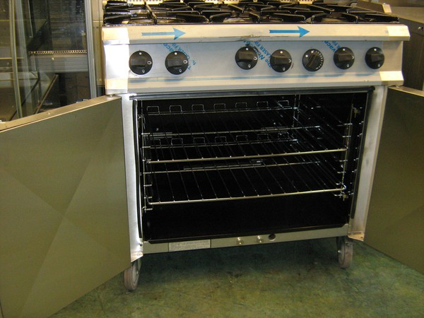 6 hob gas cooker for sale