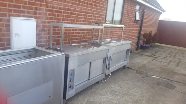 Hot cupboard unit