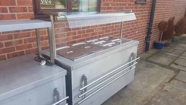 Secondhand hot cupboard carvery unit