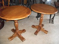 Secondhand tables